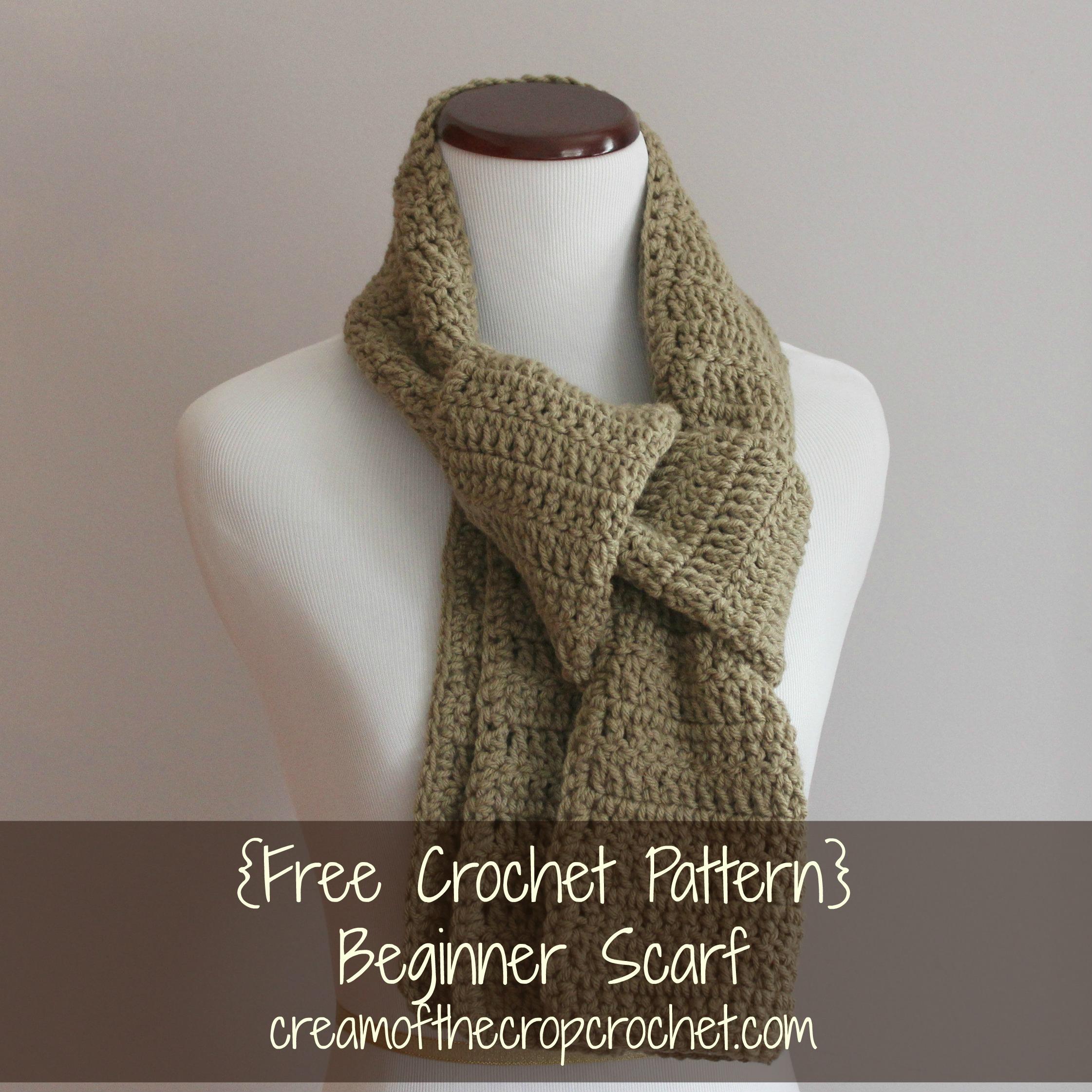 Lee Scarf Crochet Pattern