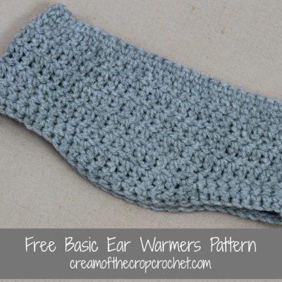 Julian Ear Warmers Crochet Pattern