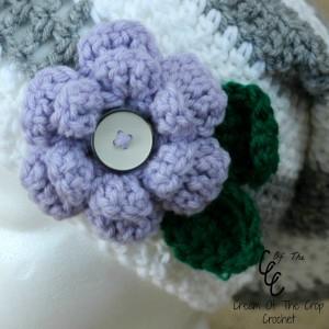 Cream Of The Crop Crochet ~ Flower Pattern {Free Crochet Pattern}