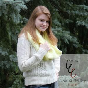 Cream Of The Crop Crochet ~ Cowl Pattern {Free Crochet Pattern}