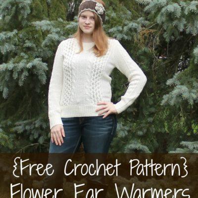 Natalie Ear Warmers Crochet Pattern