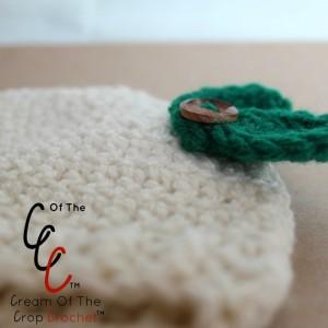 Cream Of The Crop Crochet ~ Preemie/Newborn Leaf Hats {Free Crochet Pattern}