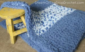 Cream Of The Crop Crochet ~ Pipsqueak Baby Blanket {Free Crochet Pattern}