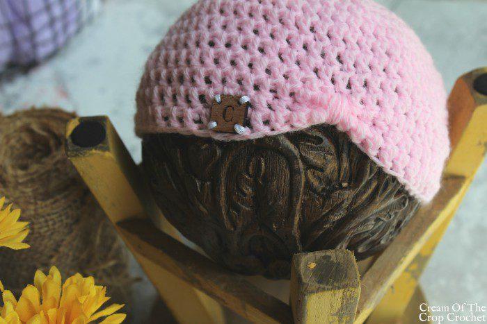 Turban Newborn Hat Crochet Pattern | Cream Of The Crop Crochet