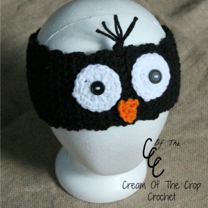 Cream Of The Crop Crochet ~ Penguin Ear Warmers {Free Crochet Pattern}