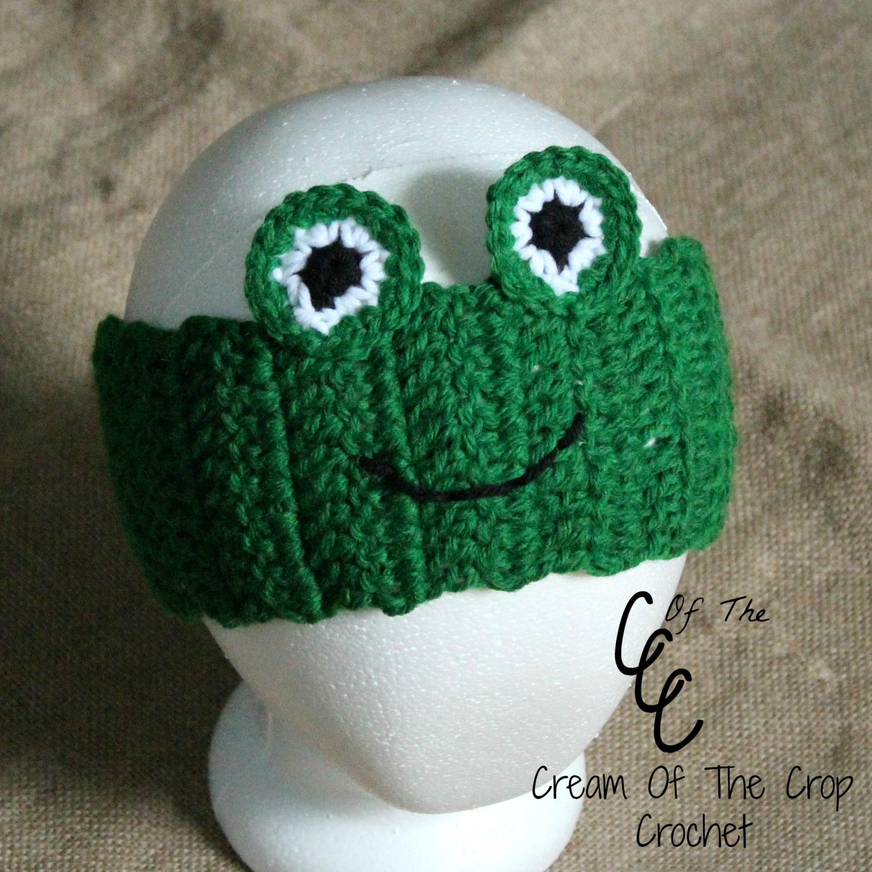 Cream of the crop crochet frog ear warmers free crochet pattern bankloansurffo Gallery
