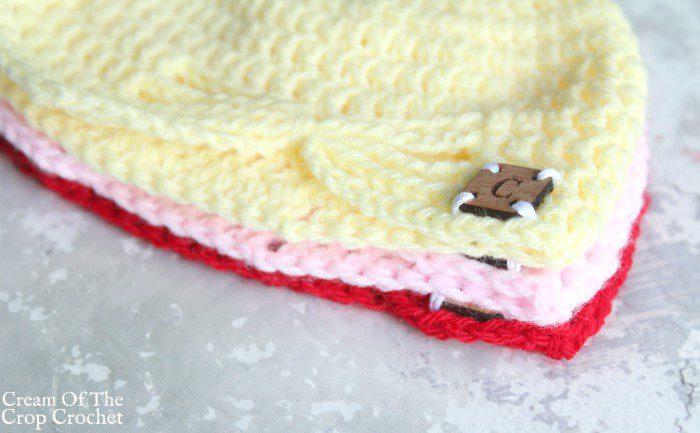 Butterfly Newborn Hat Crochet Pattern Crochet Pattern | Cream Of The Crop Crochet