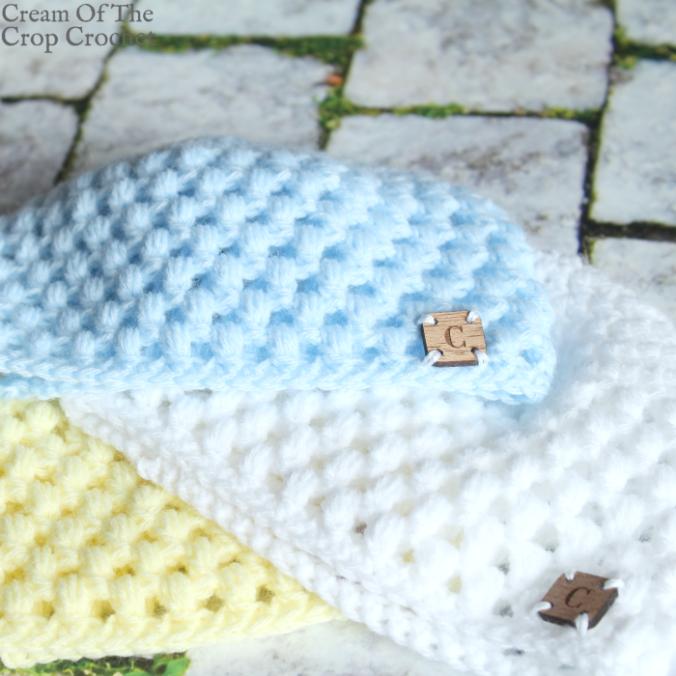 Puff Newborn Hat Crochet Pattern   Cream Of The Crop Crochet