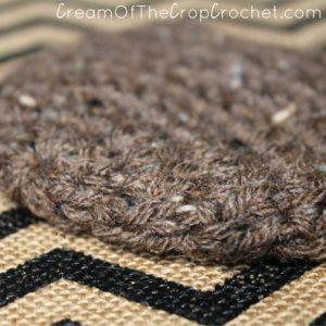 Cream Of The Crop Crochet ~ 1-3 lb Worsted Weight Plain Preemie Hat {Free Crochet Pattern}