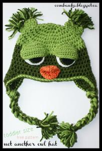 Crochet Animal Hats ~ 12 FREE Crochet Patterns on CreamOfTheCropCrochet.com