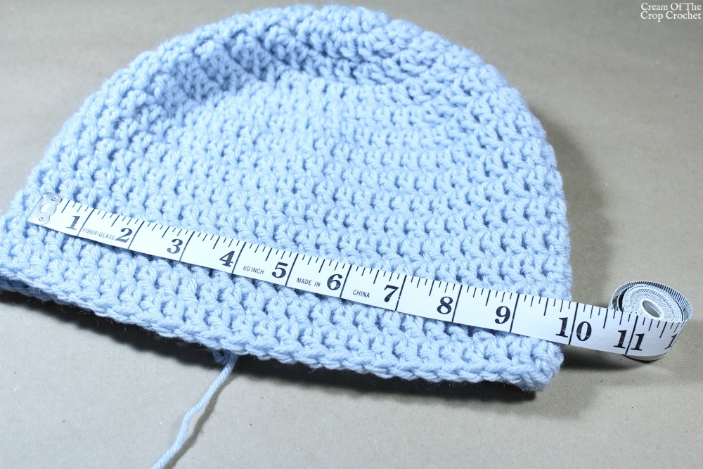 Preemie to Adult Hat Size Chart | Cream Of The Crop Crochet