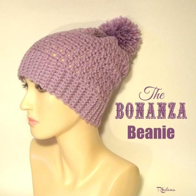 Cream Of The Crop Crochet ~ The Bonanza Beanie ~ CrochetN'Crafts {Free Crochet Pattern}