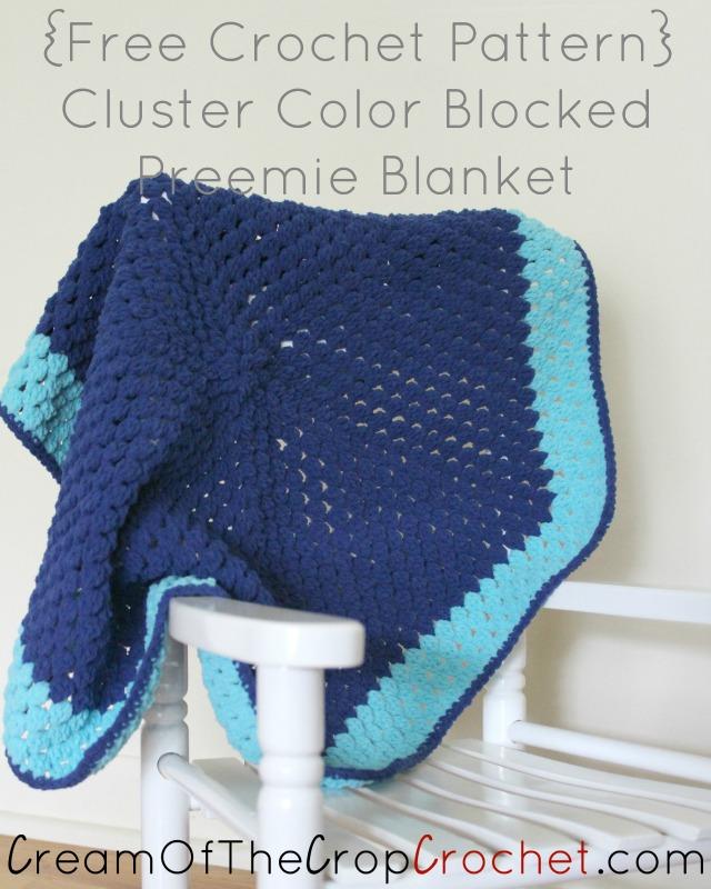 Free Crochet Pattern Preemie Blanket : Alex Preemie Blanket Crochet Pattern Cream Of The Crop ...