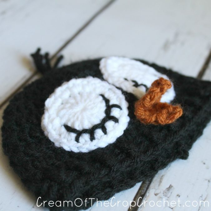 Cream Of The Crop Crochet ~ Preemie/Newborn Adorable Penguin Hats {Free Crochet Pattern}