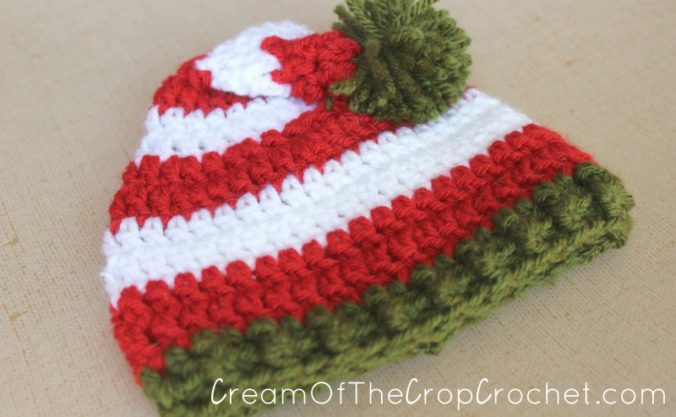 Cream Of The Crop Crochet ~ Preemie/Newborn Elf Hats {Free Crochet Pattern}