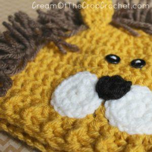 Cream Of The Crop Crochet ~ Preemie/Newborn Lion Hats {Free Crochet Pattern}