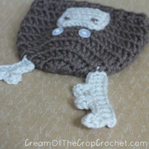 Cream Of The Crop Crochet ~ Preemie/Newborn Moose Hats {Free Crochet Pattern}