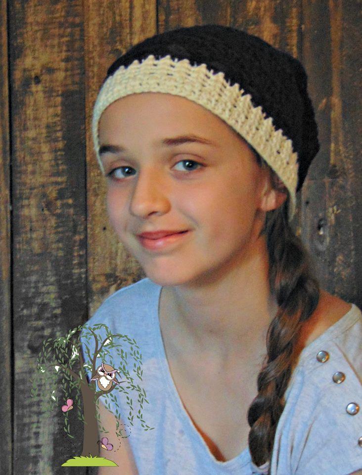 Autumn Slouch Hat Crochet Pattern