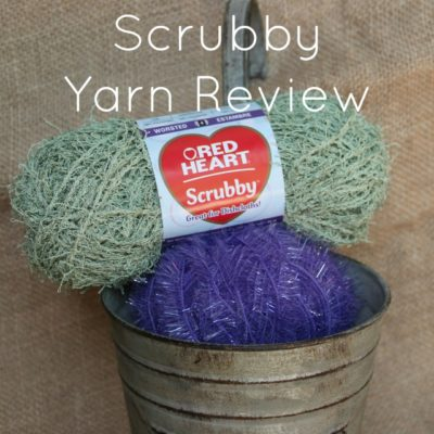 Red Heart Scrubby Yarn Review