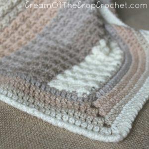 Cream Of The Crop Crochet ~ The Sand Preemie Blanket {Free Crochet Pattern}
