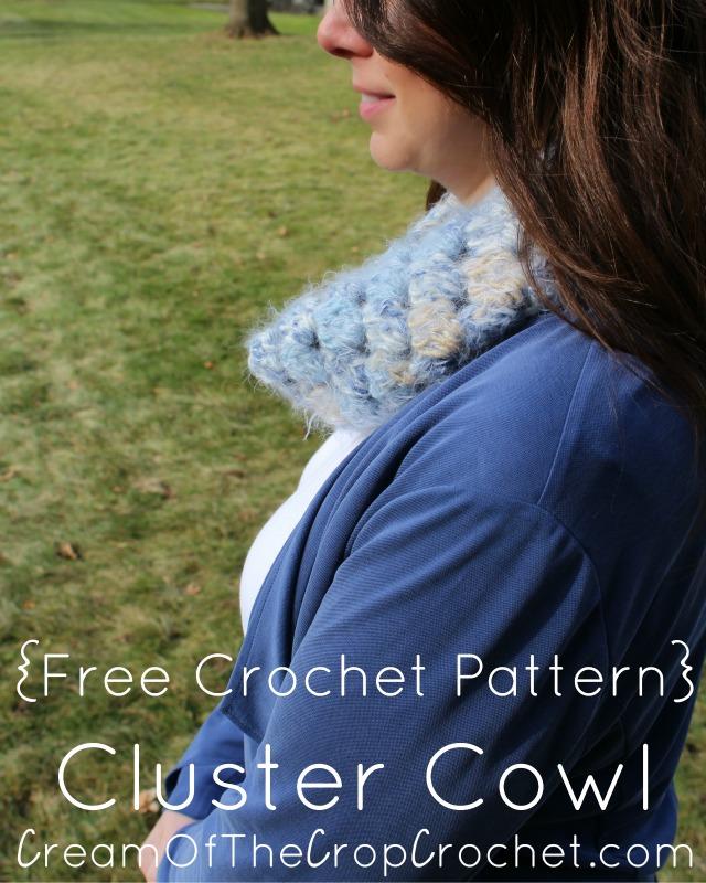 Cluster Cowl Crochet Pattern