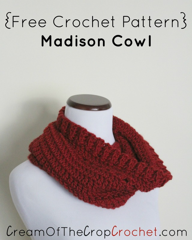Madison Cowl Crochet Pattern