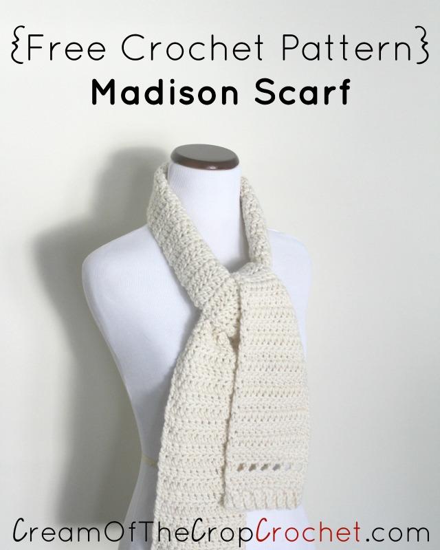 Crochet Madison Scarf Pattern
