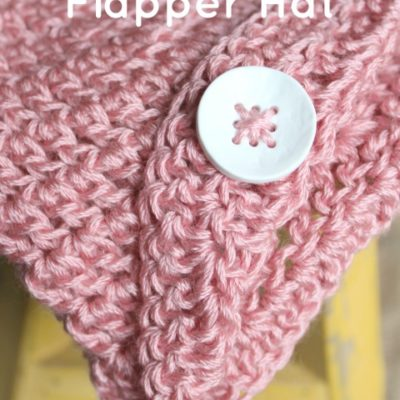 Newborn Flapper Hat Crochet Pattern