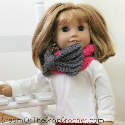 18 Inch Doll Courtney Cowl Crochet Pattern