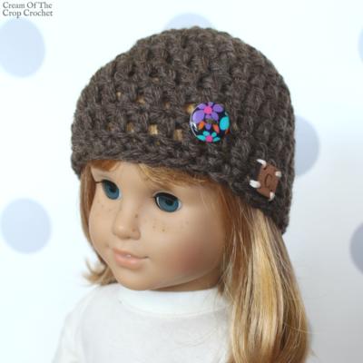 18 Inch Doll Tori Hat Crochet Pattern