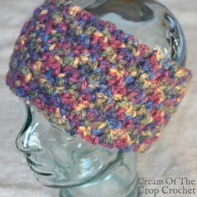 Dylan Ear Warmers Crochet Pattern