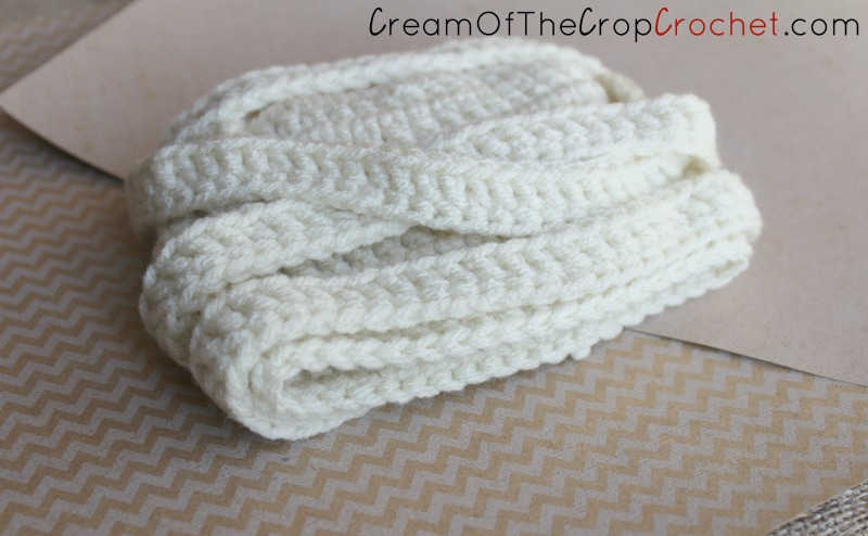 Cream Of The Crop Crochet ~ Preemie/Newborn Mummy Hats {Free Crochet ...