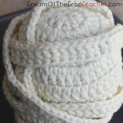 Preemie Newborn Mummy Hat Crochet Pattern