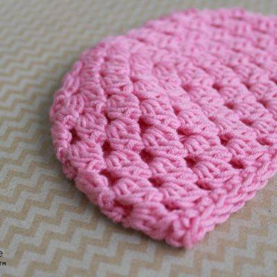 18 Inch Doll Clusters All Around Hat Crochet Pattern