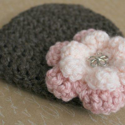 18 Inch Doll Flower Hat Crochet Pattern