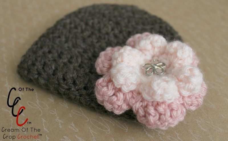 18 Inch Doll Grace Hat Crochet Pattern