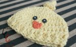 18 Inch Doll Knotted Chick Hat Crochet Pattern
