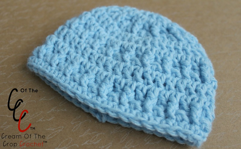 18 Inch Doll Leah Hat Crochet Pattern