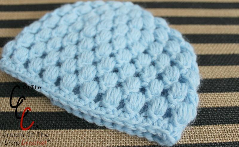 18 Inch Doll Chloe Hat Crochet Pattern