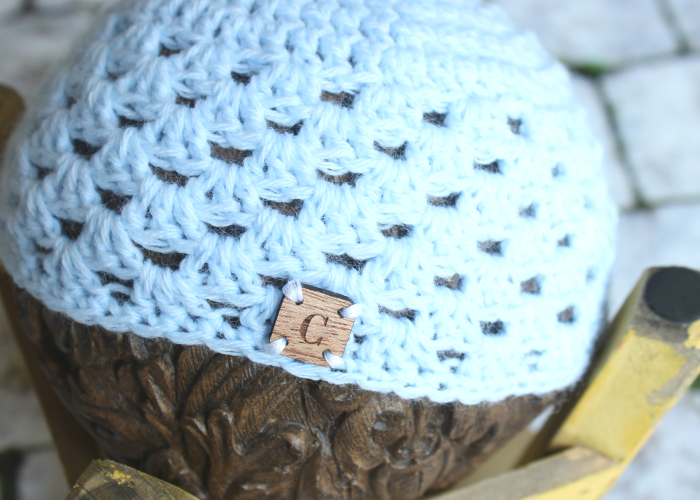 Granny Stitch Newborn Hat Crochet Video Tutorial | Cream Of The Crop Crochet
