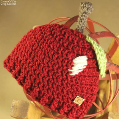 Ann the Apple Hat Crochet Pattern