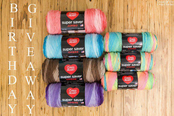 Birthday Giveaway | Cream Of The Crop Crochet