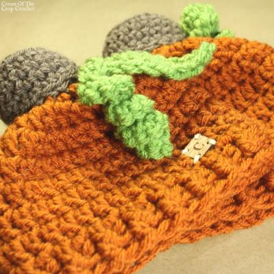 Jack the Pumpkin Hat Crochet Pattern