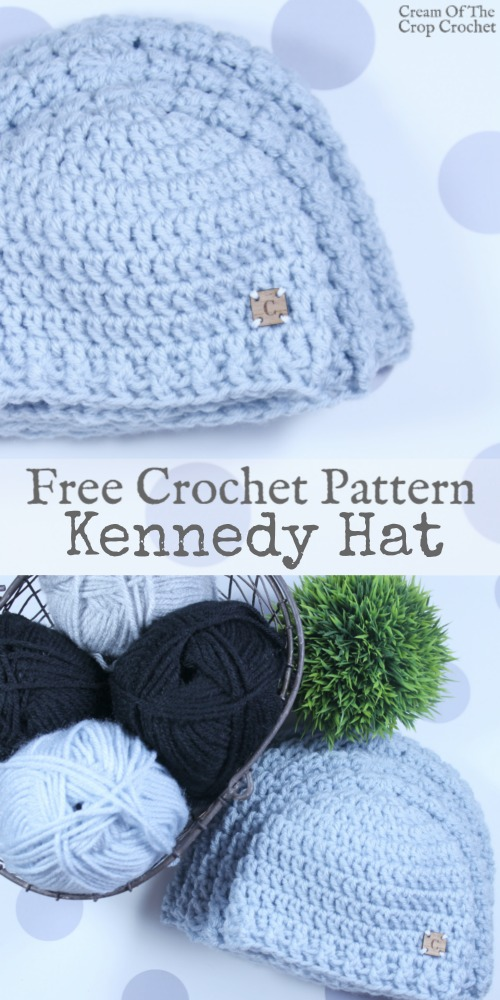 Kennedy Hat Crochet Pattern | Cream Of The Crop Crochet