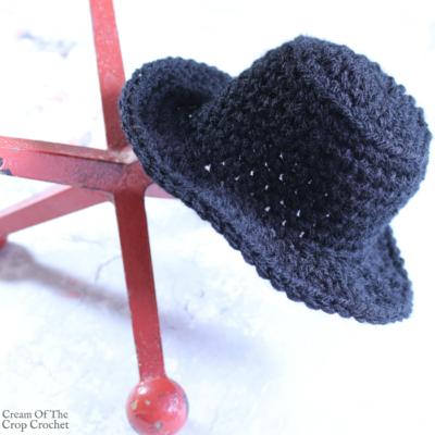 Mini Top Hat Crochet Pattern