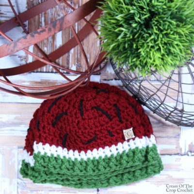 Watermelon Hat Crochet Pattern
