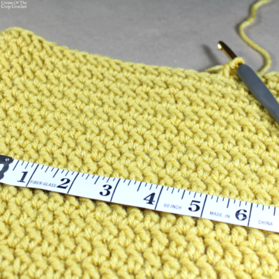 Cowl and Scarf Size Chart