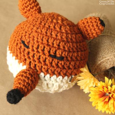 Felicity the Fox Hat Crochet Pattern