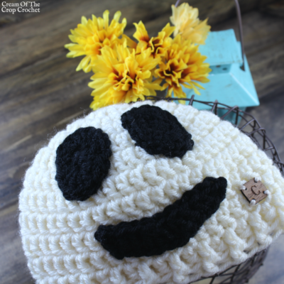 Gavin the Ghost Hat Crochet Pattern