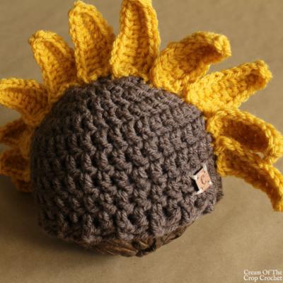 Sadie the Sunflower Hat Crochet Pattern